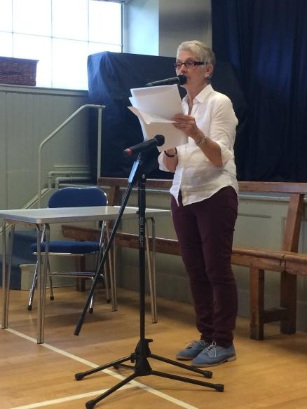 Pauline Yarwood pamphlet launch