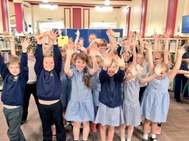 Barrow Island Primary School - work with New Writing North and Katie Hale