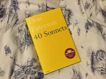 Don Paterson, 40 sonnets