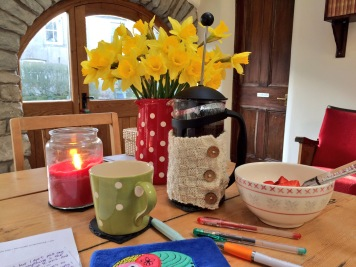 the writing desk - February 2018