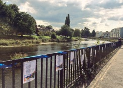 Kendal Poetry Festival 2018: guerrilla poetry, River of Poems