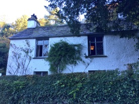 Dove Cottage, home of Cumbrian poet William Wordsworth